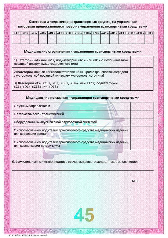 Медицинская справка для водителей в вао Справка 095 Янтарный проезд
